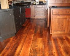 "Original White Pine Flooring ""Pumpkin Pine""  Old Reclaimed Wood"
