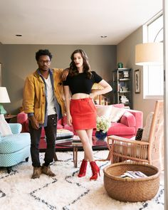 Theo and Sasha Spielberg of the band Wardell photographed by Jeff Lipsky. Sasha Spielberg, Gillian Jacob, Miranda Cosgrove, Young Actresses, Leather Skirt, Style Me, Nyc, Glamour, Stylish