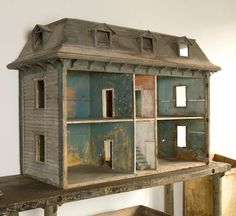 Beautiful Early American Dollhouse | Content in a Cottage