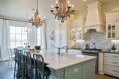 Kitchens are one of our favorite spaces to design. This one is farmhouse meets…