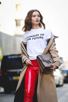 The Best Street Style At London Fashion Week Autumn Winter 2017 Casual Chic, Fashion Casual, Winter Fashion, Fashion Outfits, Womens Fashion, Fashion Trends, Style Fashion, Outfits 2016, Fashion 2015