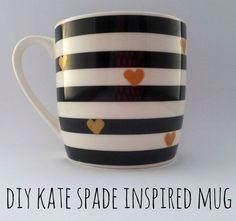 DIY Kate Spade Mug