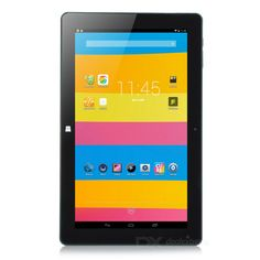 "Cube i10 Dual Boot Windows 10.1 + Android 4.4.4 Quad-Core Tablet PC w/ 10.6"" IPS, 32GB ROM - Black"