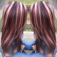 Top 15 Colored Hairstyles And Haircuts Hair Highlights Color