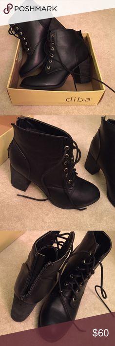 Black Diba boots!! NWT!! Black diba boots. ! Never worn!! NWT Diba Shoes Combat & Moto Boots