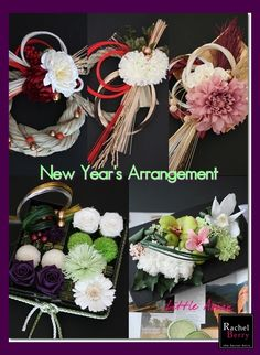 New Year's Arrangements for 2014♪|Rachel Berry the Secret Attic