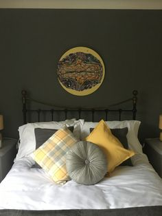 Painting: Charlotte Ellis - ceartstudio.com Small Double Bedroom, Bed Pillows, Pillow Cases, Charlotte, Painting, Furniture, Home Decor, Pillows, Decoration Home
