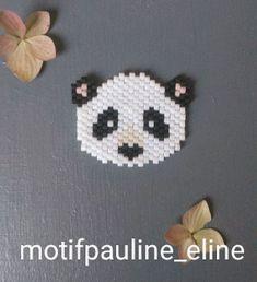 WEBSTA @ pauline_eline - Ça faisait longtemps que je voulais faire un panda et c'est fait! J'aime bien ses toutes petites oreilles... Et aussi, on m'a demandé où j'achetais mes perles, je suis désolée, je ne retrouve plus le commentaire... Je me fournis chez @loisirs_et_couleurs et chez @perlesandco ! #jenfiledesperlesetjassume #panda #pandabear #miyukibeads #miyukiaddict #miyuki #perleaddict #perles #brickstitch #handmade #motifpauline_eline