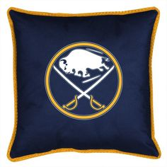 BUFFALO SABRES SIDELINES PILLOW SABRES