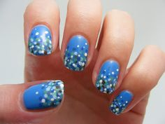 Art Evolve: 31 Day Nail Challenge - Day 11 - Polka Dots (Oops!)