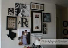 Perfectly Imperfect: Love Gallery Wall