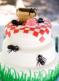 Picnic party cake