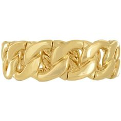 Classic Curb Chain LinkLook Bangle Bracelet: Gold ($30) ❤ liked on Polyvore featuring jewelry, bracelets, accessories, atstyle247, fashion jewelry, gold, yellow gold bangle bracelet, hinged bangle, bangle bracelet and gold jewellery