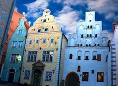 Three Brothers - Riga, Latvia