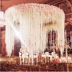 / Artificial Silk Hydrangea Wisteria Flower String For Wedding Decoration / Color:as picture Material : Cloth and silk flowers, PU glue, mosaic rod rubber plastic flowers Please Note: Product is custom handmade hence there could be minor difference is Garland Wedding, Wedding Flowers, Wisteria Wedding, Wedding Mandap, Backdrop Wedding, Khmer Wedding, Flower Backdrop, Wedding Ceremony, Wedding Venues