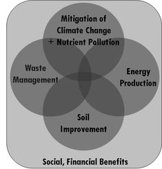 Biochar is not a silver bullet that will solve environmental problems without a much wider and far reaching strategy. But it can provide an important tool to addressing a wide range of the major challenges: soil degradationand food insecurity, climate change, sustainable energy generation and waste management