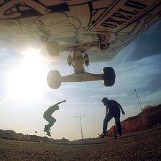 Sun and skateboarding!