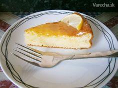 Osviežujúci citrónový koláčik
