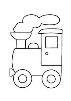 gratis kleurplaten trein