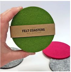 Get these Cozy Felt Coasters in six colors for only $9.99 plus FREE shipping! Great housewarming gift or stocking stuffer (although Christmas delivery is not guaranteed)! Felt Coasters, Coupon Queen, Christmas Stocking Stuffers, Great Housewarming Gifts, Christmas Delivery, House Warming, Color Pop, Stockings, Cozy