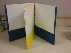 4 pocket folders using comb binder