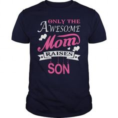 Shop Dion Awesome mom raises Dion custom made just for you. Designed by Larryton Shirt Shop, T Shirt, Shirt Hoodies, Sweatshirts, Awesome Mom, Amazing, Best Mom, Custom Shirts, Custom Clothing