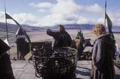Peter Jackson in The Lord of the Rings: The Return of the King Scene Image, Scene Photo, Picture Photo, Billy Boyd, Annie Lennox, Elijah Wood, Ian Mckellen, Viggo Mortensen, Orlando Bloom