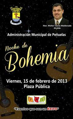 Noche de Bohemia @ Peñuelas. | sondeaquiprnet
