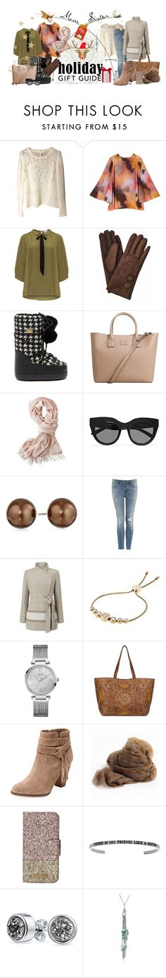 """Mom&sis gift guide"" by lizriepen ❤ liked on Polyvore featuring Isabel Marant, Melissa McCarthy Seven7, JunaRose, Dolce&Gabbana, MANGO, Mark & Graham, Le Specs, Jacques Vert, Michael Kors and GUESS"