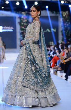Elan Bridal Dresses to Wear on Your Wedding Day Bridal Dresses 2017 Pakistani, Asian Bridal Dresses, Walima Dress, Pakistani Wedding Outfits, Pakistani Wedding Dresses, Blue Wedding Dresses, Bridal Outfits, Bridal Lehenga, Indian Dresses