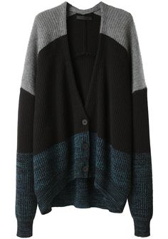 Alexander Wang / Marled Color Block Cardigan
