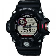 99c02b87ea11a3 An oversized design from G-Shock by Casio. This Rangeman edition has a large