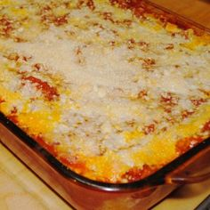 Baked Manicotti - uses eggroll wrappers