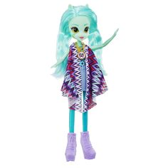 Amazon.com: My Little Pony Equestria Girls Legend of Everfree Lyra Heartstrings Doll: Toys & Games