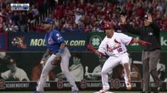 CHC Wong doubles and does 'Nae Nae' dance. Cardinals Baseball, St Louis Cardinals, Yadier Molina, Great Team, One Team, Going Crazy, Peanuts, Videos, Blues