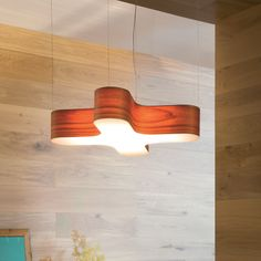 X-Club Pendant by LZF. Made in Spain By LZF. Designed by: Burkhard Dämmer. Available as a Suspension / Floor / Table / Wall Lamp. Blue Chocolate, White Cherries, Light Effect, Made Of Wood, Wood Veneer, Wood Wall, Modern Interior, Lamps, Table Lamp