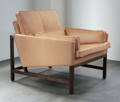 Armchairs | Seating | Low Back Lounge Chair | BassamFellows. Check it out on Architonic