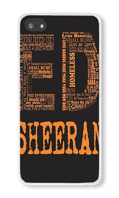 iPhone 5S Case AOFFLY® Ed Sheeran Clear PC Hard Case ... https://www.amazon.com/dp/B014AVPC98/ref=cm_sw_r_pi_dp_E5YExbPEWAK4R