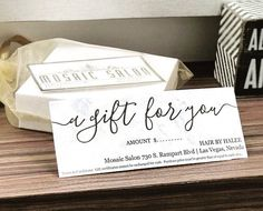 Free printable gift card templates that can be customized online printable gift certificate gift card template simple rustic design on kraft paper no yelopaper Choice Image