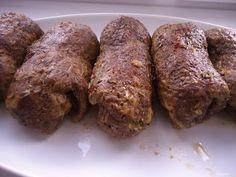 Zrazy wołowe z cebulką i ogórkiem kiszonym bez boczku