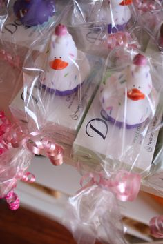1st bday rubber ducky favors