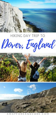 Hiking the amazing White Cliffs of Dover, England. #England #Hiking #Daytrip