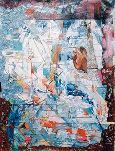 Claudio Spanti - Gargouille - Acrylique sur toile - cm 93x69 - 2012