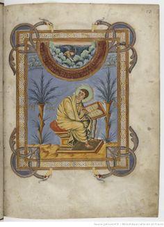 Evangelia quattuor [Évangiles dits de François II] (1r-186r). Capitulare evangeliorum (187r-199v). Date d'édition : 850-875 Contributeur : Etienne Roffet Type : manuscrit Langue : Latin