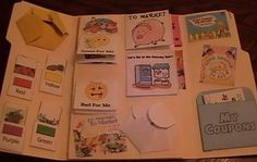 coupon busy book