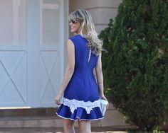 vestido curto com babado na barra - Pesquisa Google