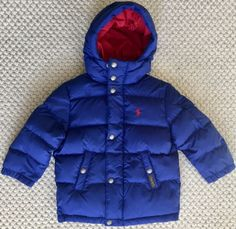 9808868afb02 Outerwear 147324  Baby Boys Puffer Jacket Coat 24 Months Never Used Brand  New Red -  BUY IT NOW ONLY   40 on eBay!