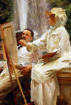 """Easel""... painter? #white #painting"