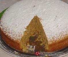 carrot cake no eggs Greek Sweets, Greek Desserts, Greek Recipes, Vegan Desserts, Easy Desserts, Dessert Recipes, Cooking Cake, Cooking Recipes, Meals Without Meat