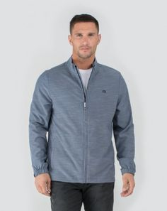 06b59816a Travis Mathew Mens Hadley Full Zip Jacket at Austad's Golf - your home for  stylish men's
